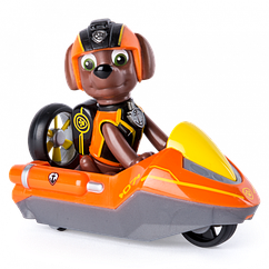 """Рятувальний міні-автомобіль Spin Master Щенячий патруль з фігуркою Зума серія """"Таємна місія"""" (SM16721/9328)"""