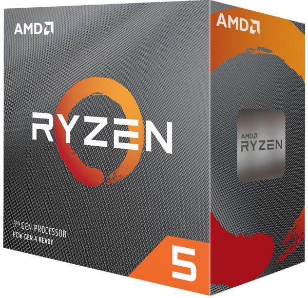 Процесор CPU AMD  6C/12T   Ryzen 5   3600  3,6GHz-4,2GHz(Turbo)/32MB/65W (100-100000031BOX) sAM4 BOX (код