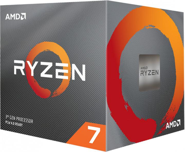 Процесор CPU AMD  8C/16T   Ryzen 7   3800X  3,9GHz-4,5GHz(Turbo)/32MB/105W  (100-100000025BOX) sAM4 BOX  (код