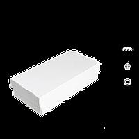 """Коробка для суші 2 ролу """"СУ 0300"""" Біла, 100*200*50мм, (уп/25шт)"""