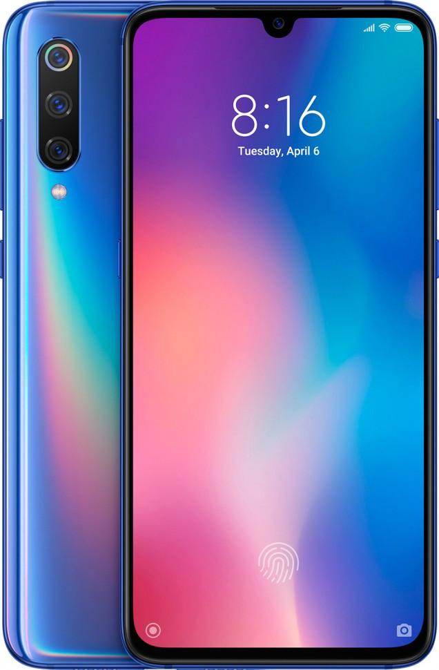 Мобильный телефон Xiaomi Mi 9 6/128GB Ocean Blue