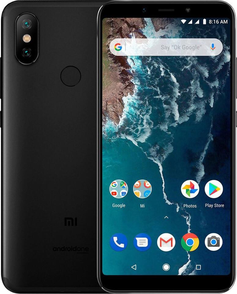 Мобильный телефон Xiaomi Mi A2 4/32 Black (M1804D2SG)