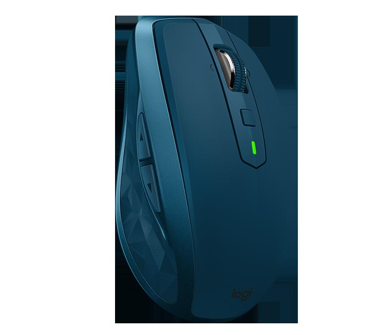 Миша безпровідна Logitech MX Anywhere 2S Wireless/Bluetooth Midnight Teal (910-005154)  (код 114603)