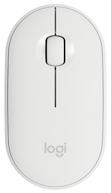 Mouse Logitech M350 Wireless White (910-005716)  (код 114613)