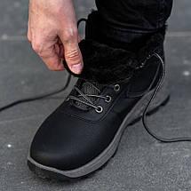 Мужские Зимние Ботинки на Меху Обувь Мужская Зимняя Размеры 40,41,42,43,44,45, фото 3