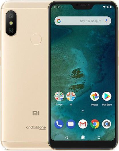 Мобильный телефон Xiaomi Mi A2 Lite 4/64 Gold