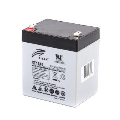 Акумуляторна батарея Ritar AGM RT1245 (12В 4.5Aг) (код 84497)