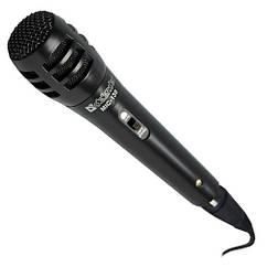 Мікрофони Мікрофон Defender MIC-130 black, кабель 5м, для караоке (код 50134)