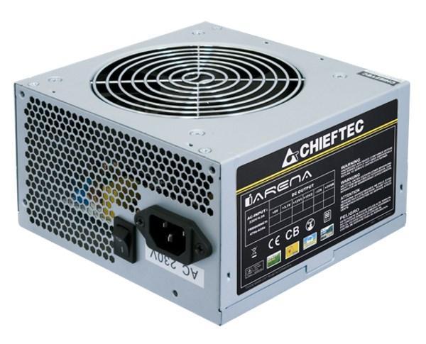 Блок живлення 400W Chieftec GPA-400S8 ATX 2.3 APFC 20+4+4+6/8pcie 1*12см >80% TUV/CE 10шт/уп bulk (код 85122)