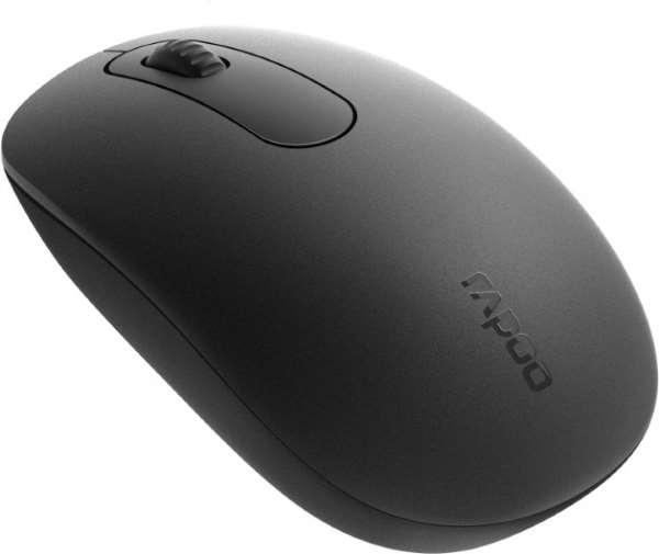 Мишка Миша Rapoo N200 чорна (код 106519)