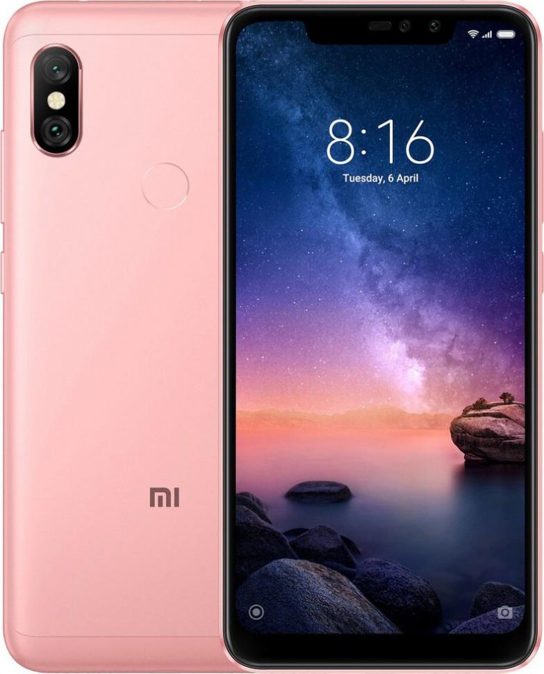 Мобильный телефон Xiaomi Redmi Note 6 Pro 4/64GB Rose Gold