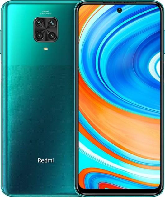 Мобильный телефон Xiaomi Redmi Note 9 Pro 6/64 Tr. Green (M2003J682G)