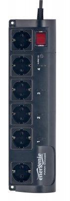 Мережевий фільтр 4.5м EnerGenie  EG-PMS2  програмується, USB інтерфейс 1.8м. (код 115113)
