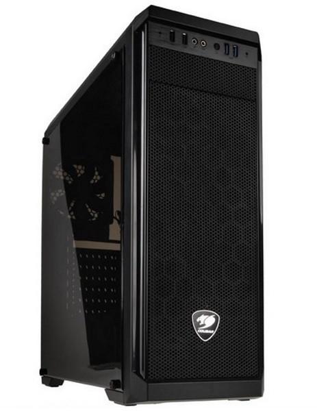 "Корпус Cougar MX330 2*3.5""+1*5.25""+2*2.5""Mini-ITX / Micro ATX / ATX (код 96396)"