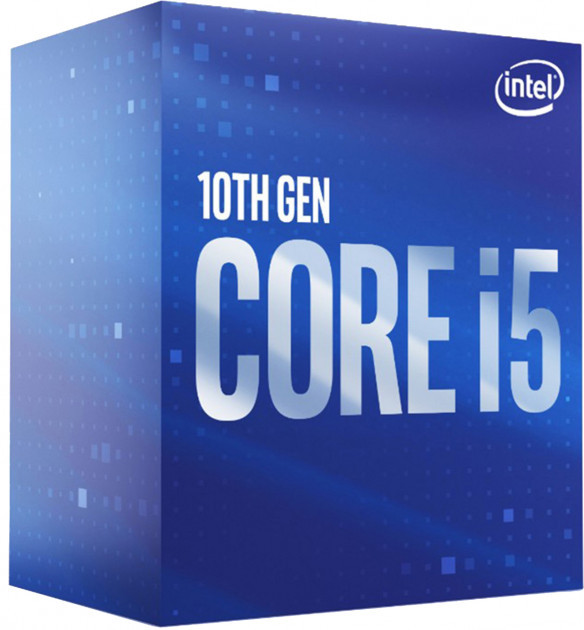 Процесор CPU Core i5-10400 6-CORE 2,90-4.30Ghz/12Mb/s1200/14nm/65W  Comet Lake (BX8070110400) s1200 BOX  (код