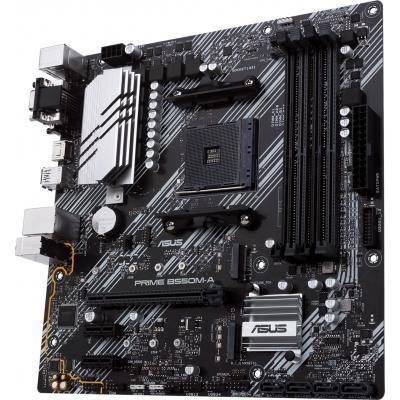 Мат. плата MB Asus PRIME B550M-A sAM4 (2 x PCIe 3.0 x1, 1 x PCI-Eх 4.0 x16, виробник чіпсета - AMD, модель