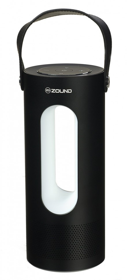 Портативная колонка ZOUND Lumina Flash Black