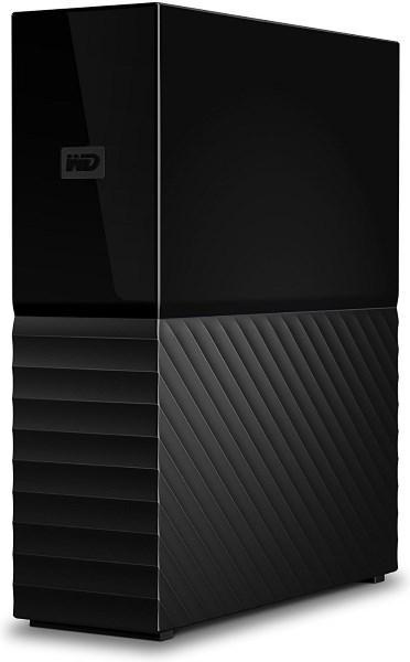 Зовнішній диск HDD External 3.5'' 4TB Western Digital My Book USB 3.0 External  Black (WDBBGB0040HBK-EESN)