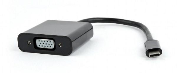 Адаптер Адаптер Cablexpert AB-CM-VGAF-01 перехідник USB Type-C на VGA  (код 108656)