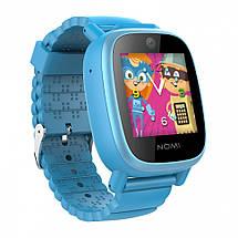 Смарт-часы для дітей Nomi Kids Heroes W2 Blue, фото 3