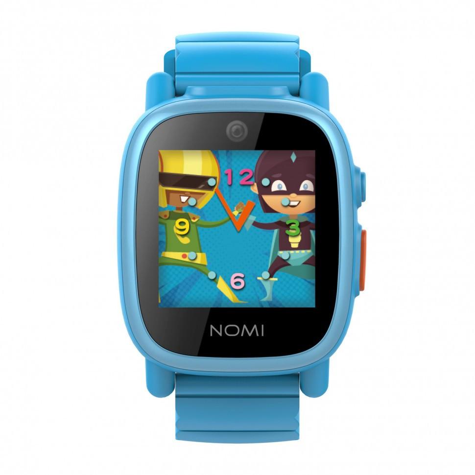 Смарт-часы для дітей Nomi Kids Heroes W2 Blue (У1)