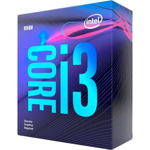 Процесор CPU Core i3-9100F  4 cores  3,60Ghz-4,20GHz(Turbo)/6Mb/s1151/14nm/65W   Coffee Lake-S