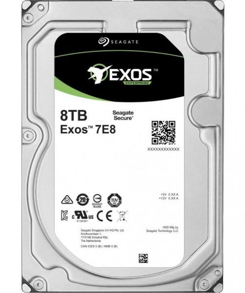"Жорсткий диск HDD 8TB Seagate Enterprise Exos 7E8  3.5"", 7200rpm, SATA 3, 256MB (ST8000NM000A) (код 108072)"