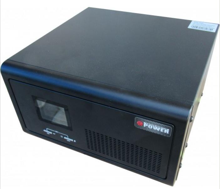 Инвертор ИБП Q-Power QPSM-600 12В 600Вт ЗУ-30А горизонтальный