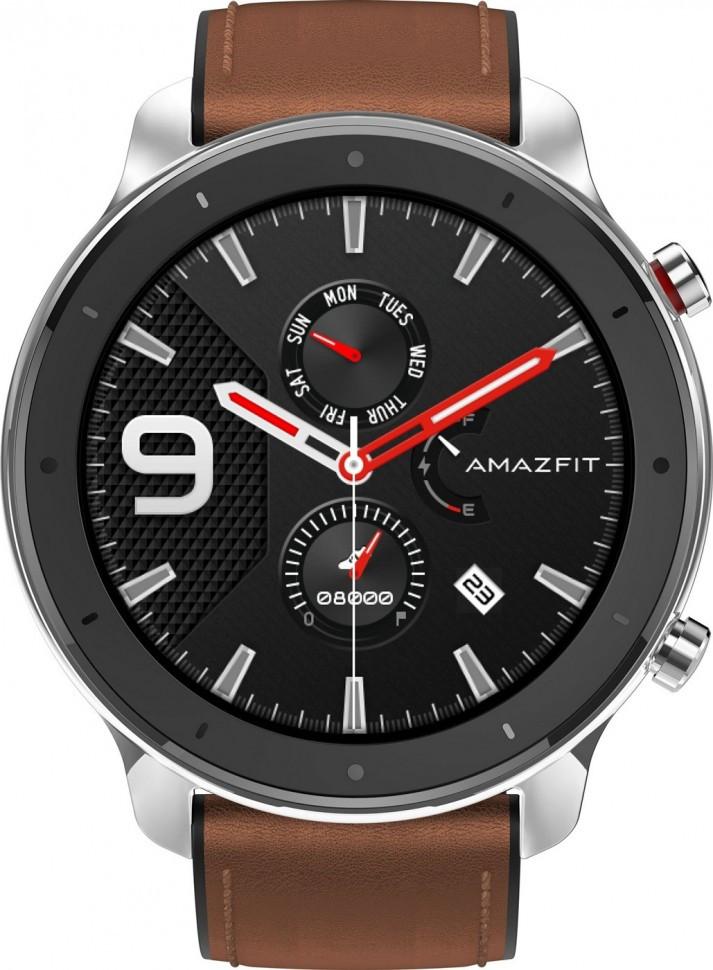 Умные часы Amazfit GTR 47 mm Stainless Steel