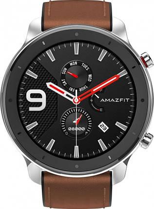 Умные часы Amazfit GTR 47 mm Stainless Steel, фото 2