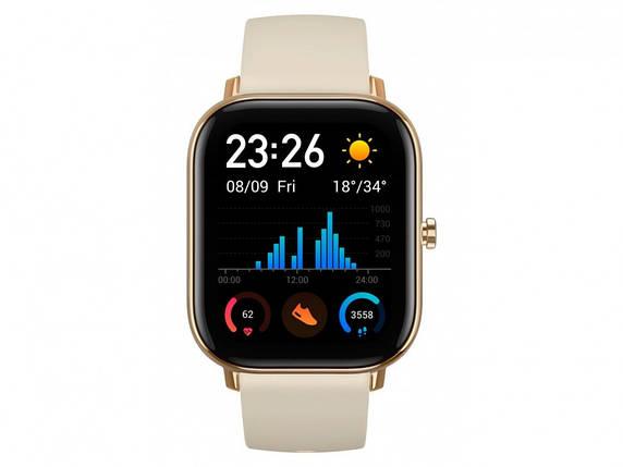 Умные часы Amazfit GTS Desert Gold, фото 2