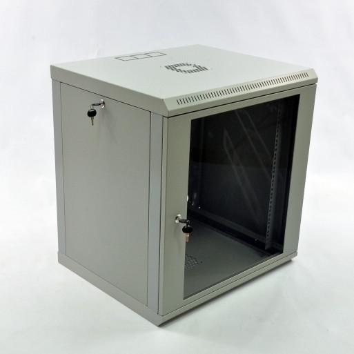 Шафа CMS 12U, 600x500x640мм (Ш*Г*В), економ, акрилове скло, сіра (UA-MGSWL125G) (код 77299)