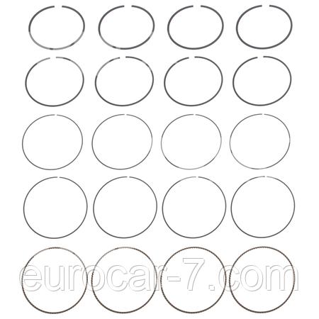 Поршневые кольца двигателя Nissan K21 (+0.25)