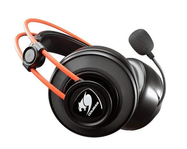 HeadPhone+Mic Cougar IImmersa Ti Ігрова гарнітура, спрямований мікрофон з шумозаглушенням (код 111701)