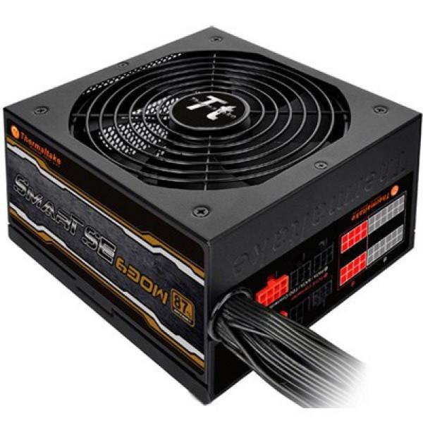 Блок живлення 630W Thermaltake SMART SE 14см APFC 80+ модульний (код 96996)