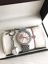 Подарочные наборы Женские кварцевые часы Michael Kors (Майкл Корс) браслет коробочка