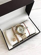 Подарочные наборы Женские кварцевые часы Pandora браслет коробочка , Реплика