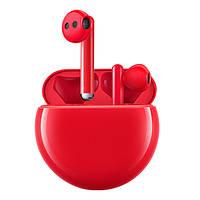 Наушники вакуумные беспроводные без микрофона Huawei Freebuds 3 Red