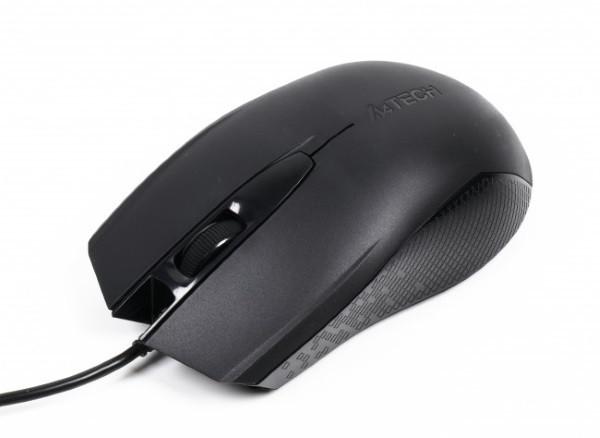 Миша A4 Tech OP-760 USB Black) дротова V-Track USB, 1000dpi, 8-in-One ПО (код 100035)