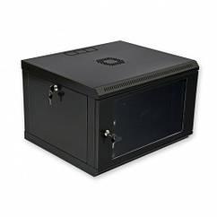 Шафа CMS  6U, 600x500x373мм (Ш*Г*В), економ, акрилове скло, чорна (UA-MGSWL65B) (код 79156)