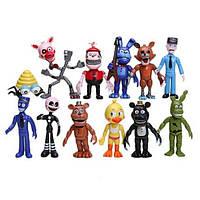 Игровой набор Пять ночей у Фредди, 12в1, 10см - Five Nights at Freddy`s