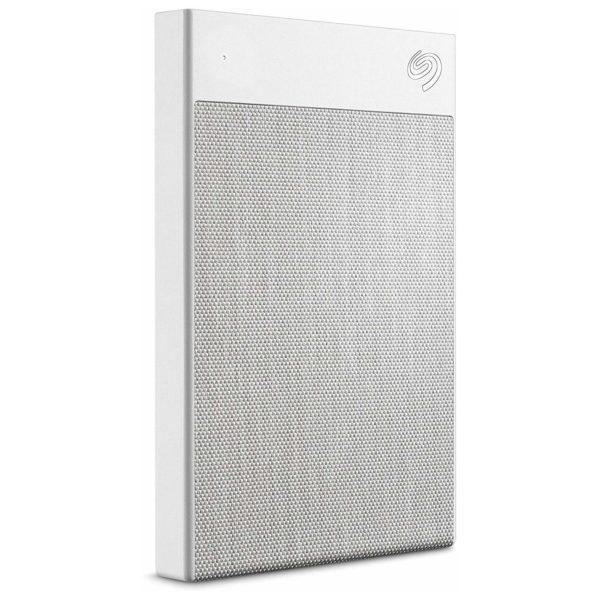 Зовнішній диск HDD External 2.5'' 2TB Seagate Backup Plus Ultra Touch white  (with type-C adapter), USB 3.0
