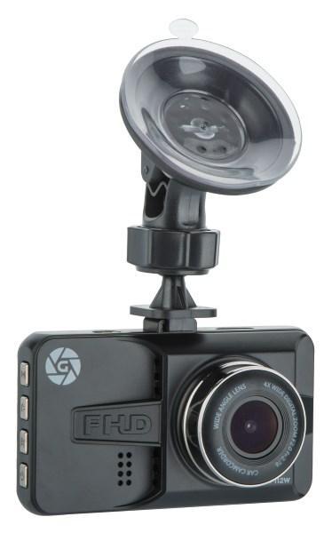 Відеореєстратор Globex GE-112W; роздільна здатність відео 1920x1080; кут огляду 120°; формати відео AVI,MJPEG