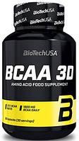 Амінокислоти BioTech - BCAA 3D (180 капсул)