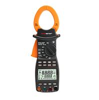 Protester PM2203. Клещи измерительные, для измерения силы тока, трехфазные, нагрузочные, тестер напряжения