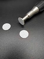 Сменные файл PREMIUM 180 грит (слайс) на диск (металлическую основу) step М (степ средний) 100 шт, фото 1