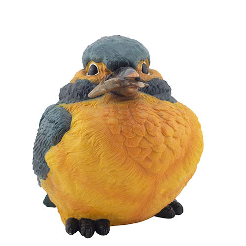Садовая фигура Decoline Птичка с рыбой (полистоун) F0104-2(P)