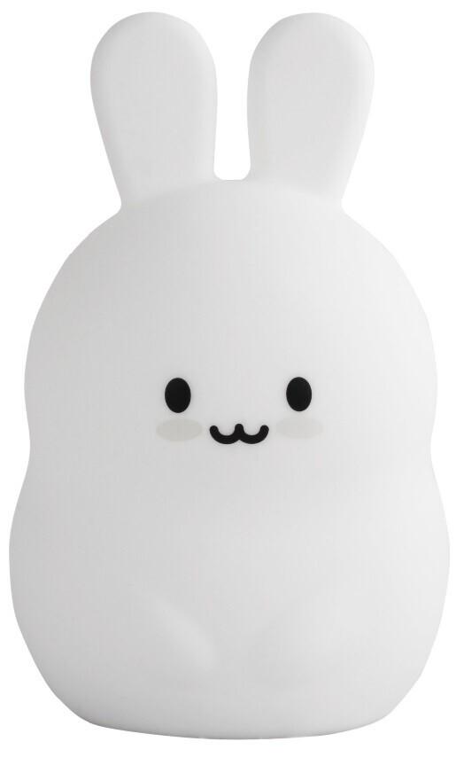 Силиконовая светлодиодная лампа Colorful Silicone Rabbit