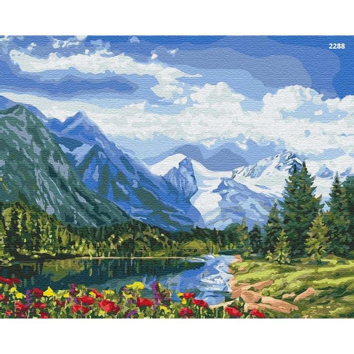 """Картина по номерам -""""Альпійська досконалість"""" (КНО2288)"""