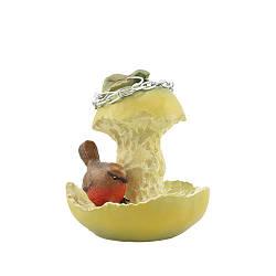 Кормушка для птиц Decoline Грушка с птичкой (полистоун) KP0305(P)
